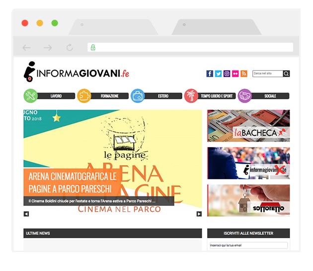 Informagiovani di Ferrara: bacheca, notizie e newsletter